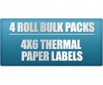 4x6 4-Pack Thermal Labels