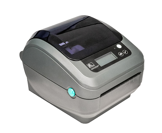 Zebra GX420D Thermal Label Printer GX-420D + Driver & Manual