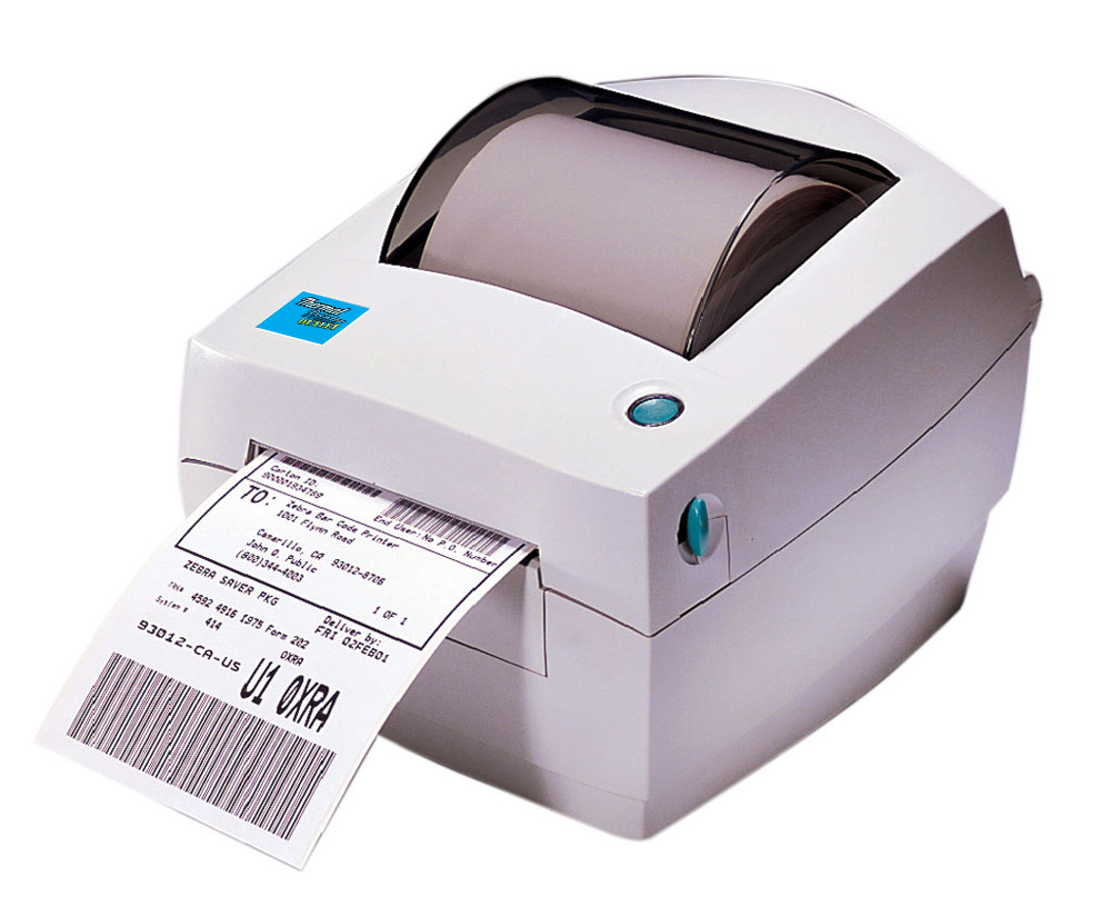 Zebra LP-2442 Thermal Label Printer LP2442 + Driver & Manual