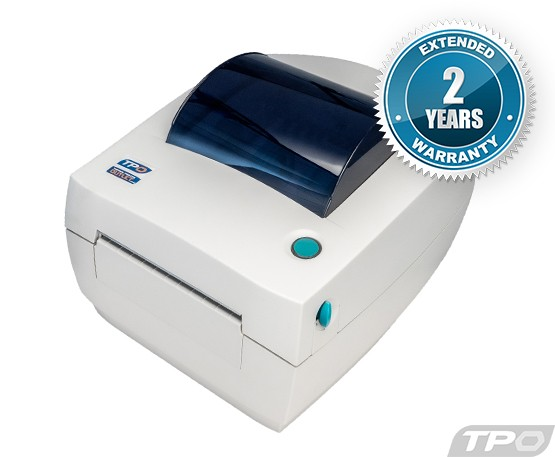 Zebra LP2844 Thermal Label Printer LP-2844 + Driver & Manual