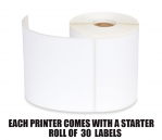 Zebra Thermal Paper Roll