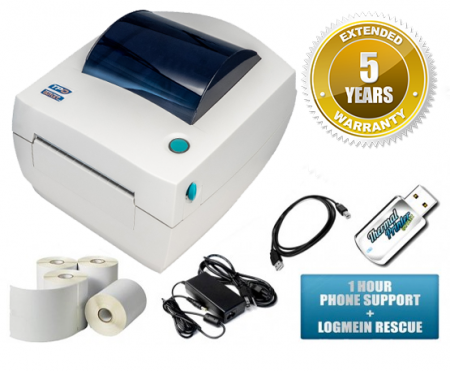 zebra lp2844 pro thermal label barcode printer