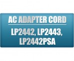 Zebra LP2442 Printer AC Power Cord