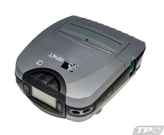 zebra rp4t mobile label printer
