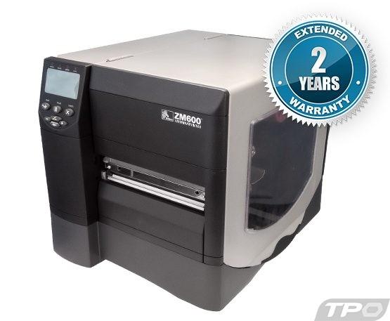 zebra zm600 industrial label printer
