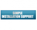 thermal label printer installation support