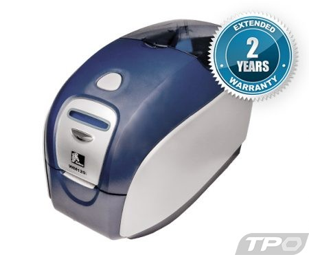 zebra wm120i p120i id card badge printers