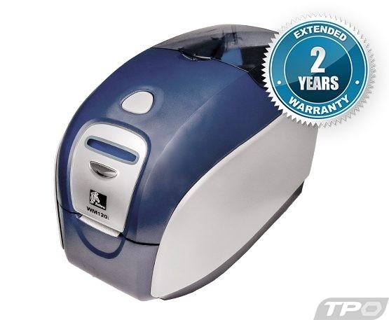 zebra wm120i p120i id card badge printers