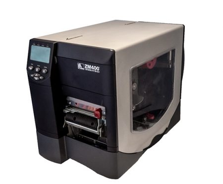 zebra zm400 industrial label printer