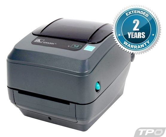zebra gx430t label printer