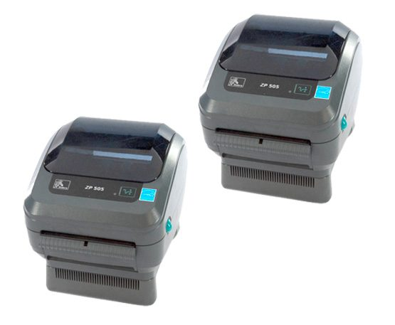 2 pack zebra 505 printer
